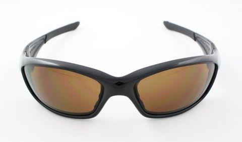 New Oakley Straight Jacket Sunglasses Polished Black