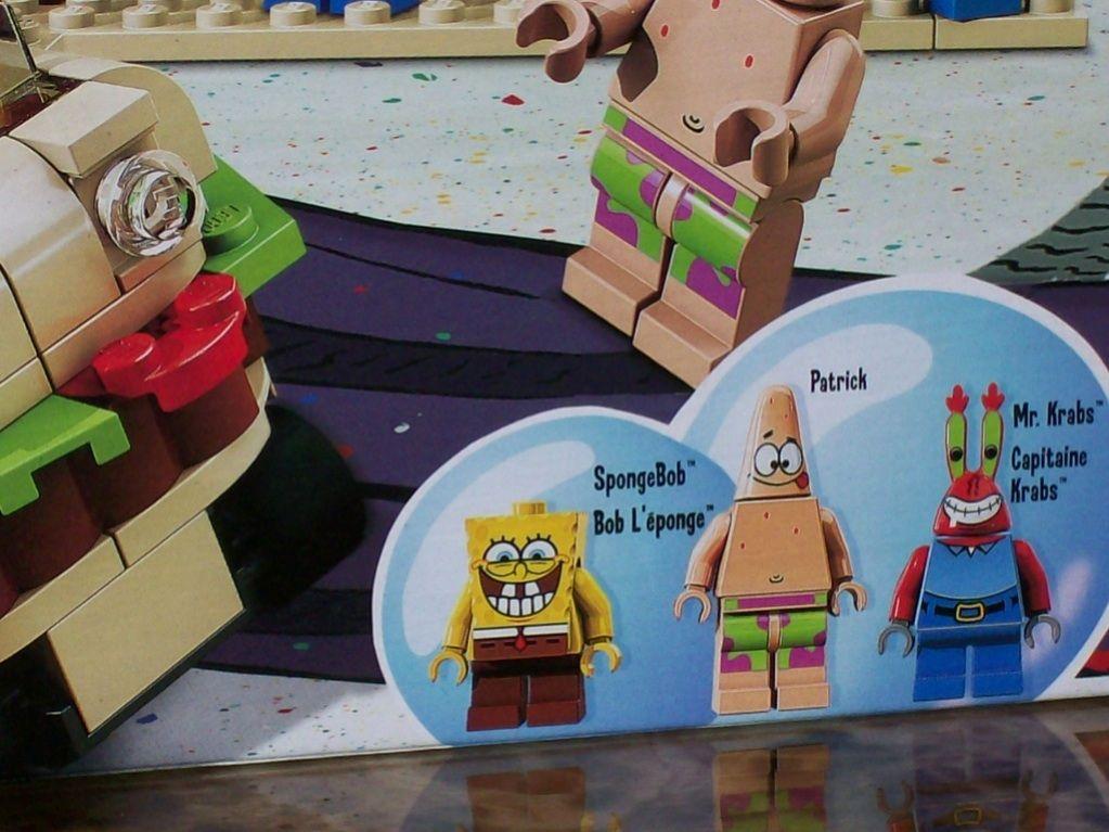 Lego Spongebob Squarepants Krusty Krab Adventures 3833