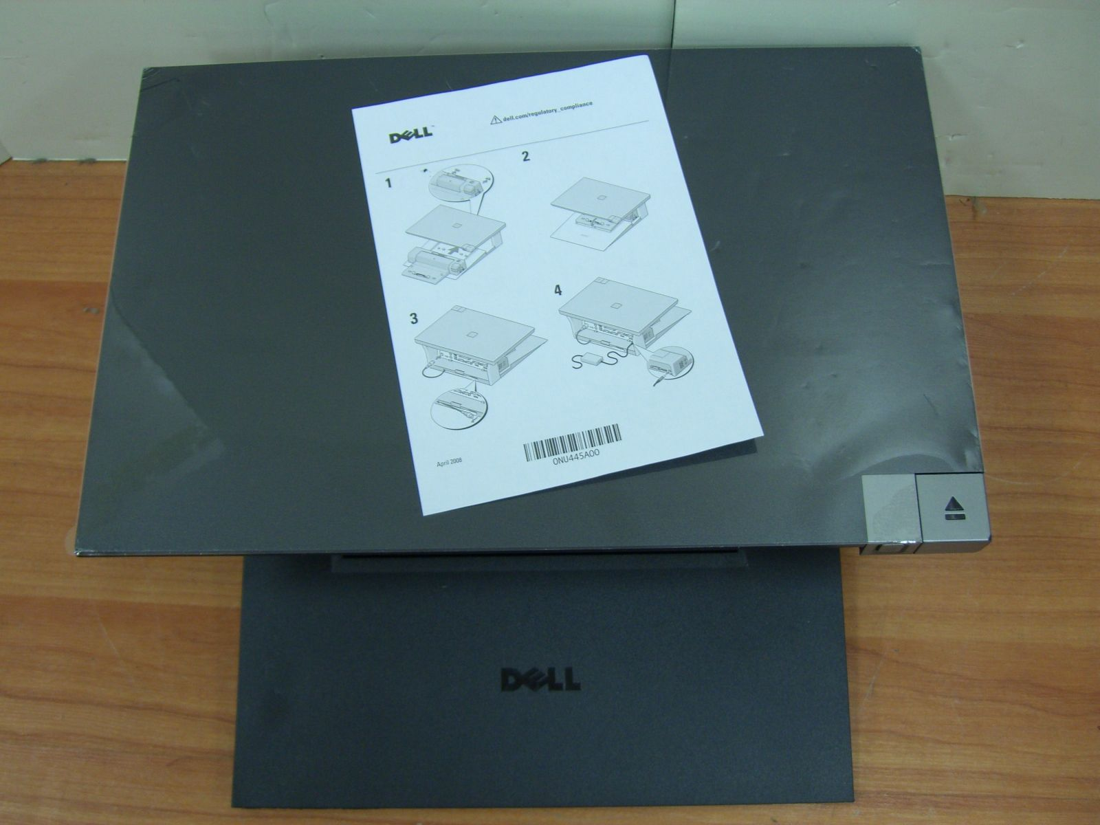 Dell E Series Laptop Notebook Monitor Stand and Docking Station PW380