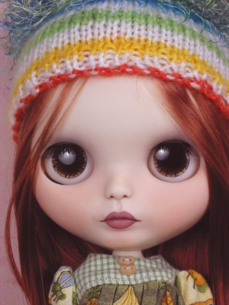 Layla OOAK Custom Blythe Art Doll Repaint New by Ellen Harris