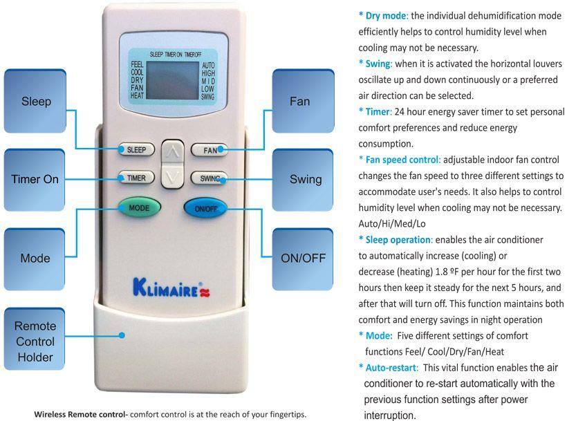 KSWT009 C113 Ductless Air Conditioner Mini Split AC 9000 BTU   16