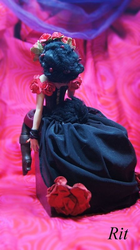 Lisa Dias de Los Muertos OOAK Doll by Rit