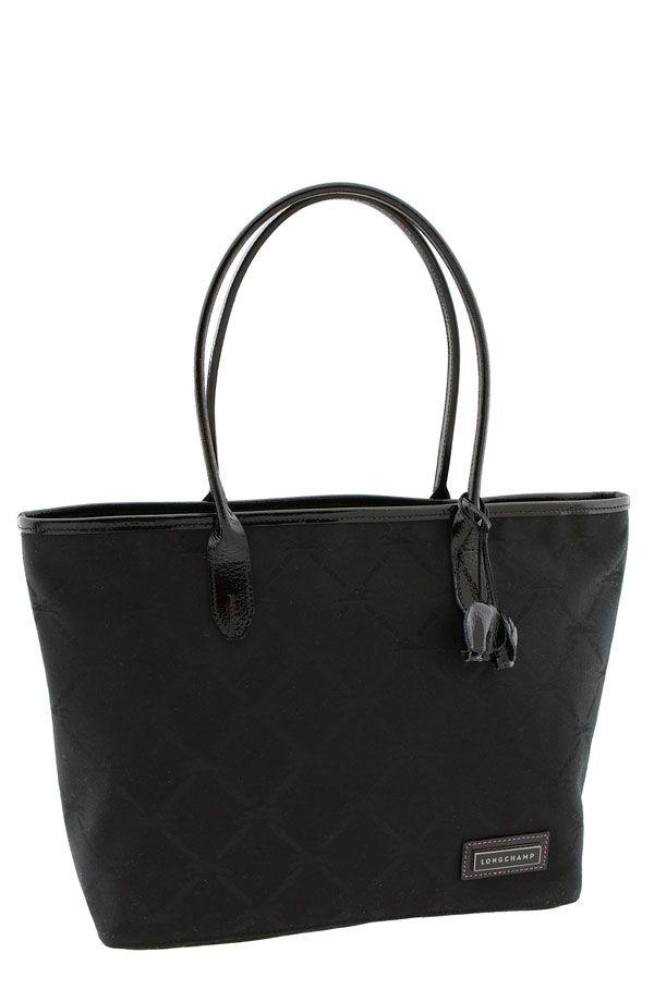Longchamp Toile Large Shopper Tote Bag $375
