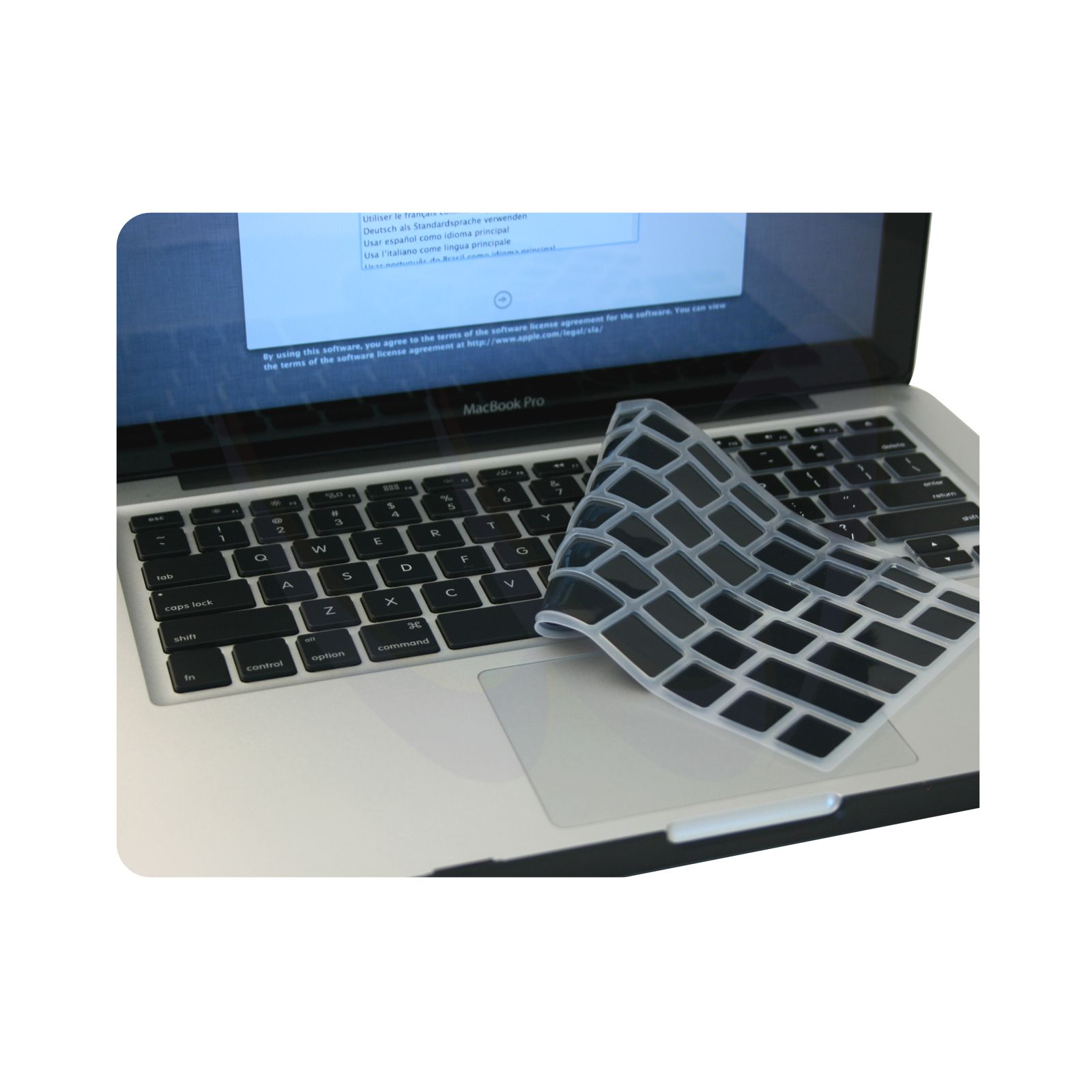 Keyboard Cover Skin Shield for MacBook Pro 13 15 17 inch 6131