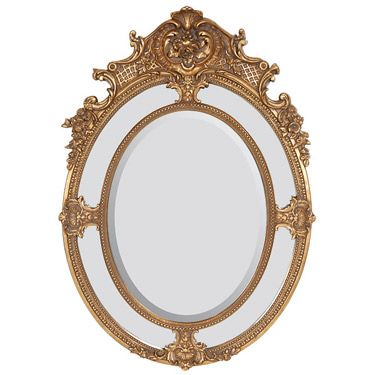Gold Madame Tussauds Vanity Mirror Hand New Antique New