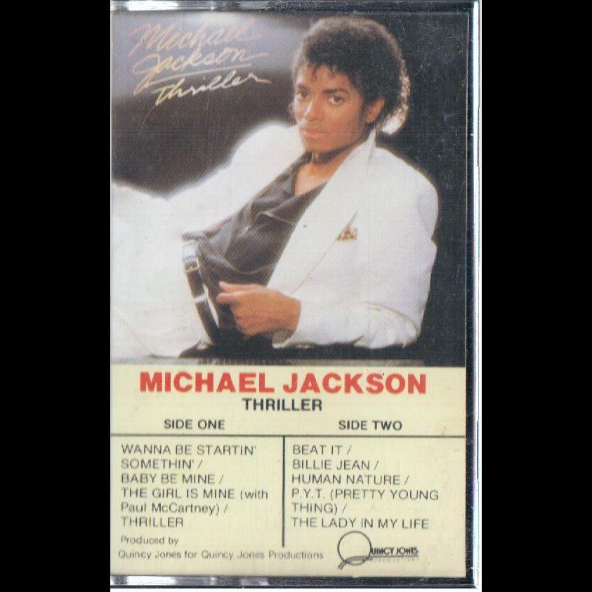 Michael Jackson Thriller Cassette VG Canada Epic QET 38112