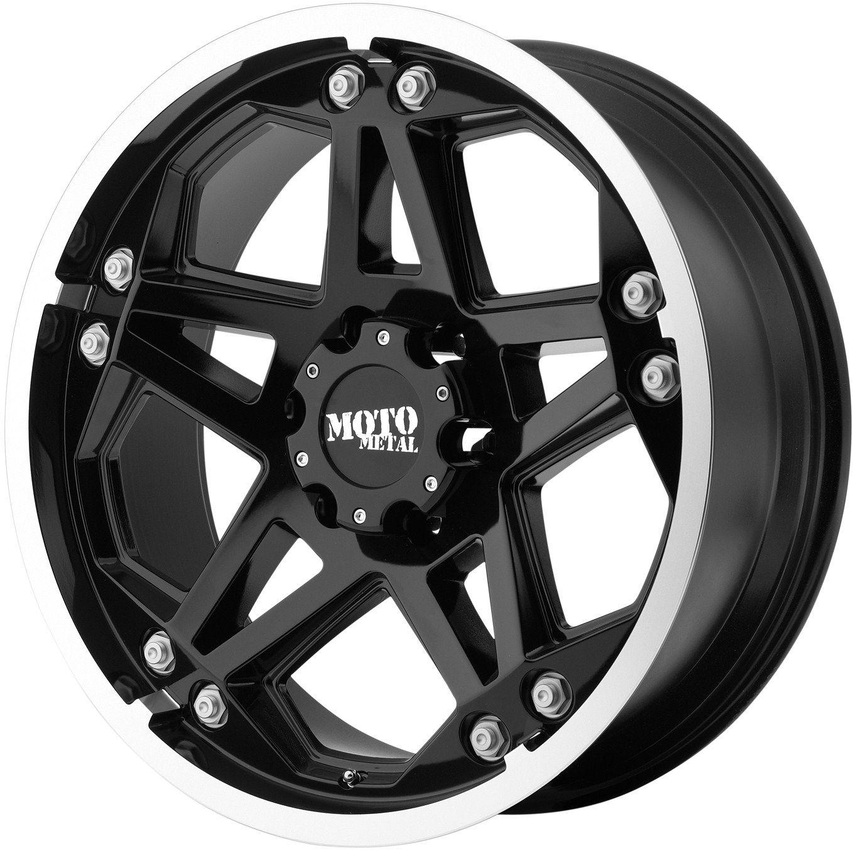 20 Black Wheels Rims 2011 Chevy GMC 2500 3500 HD 8x180