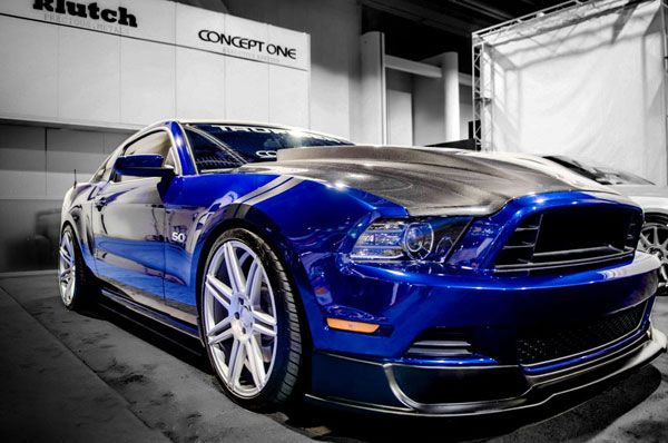 GT Concept One CSM7 Concave Silver Staggered Wheels Rims