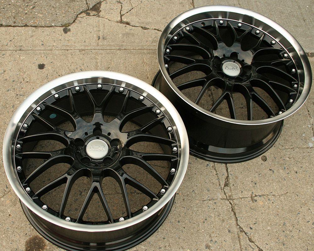 Adr M Classic 20 Black Rims Wheels Infiniti G35 Coupe 20 x 8 5 9 5 5H