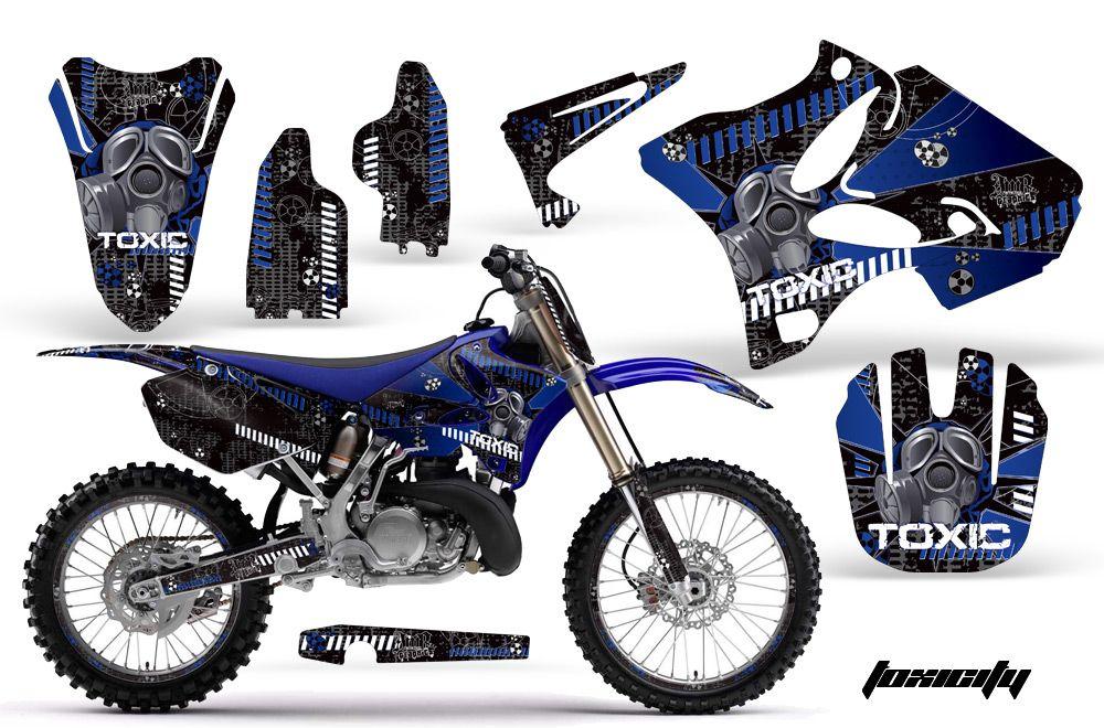 Road Motocross Graphic Decal Kit Yamaha YZ 125 250 02 11 Tubgk