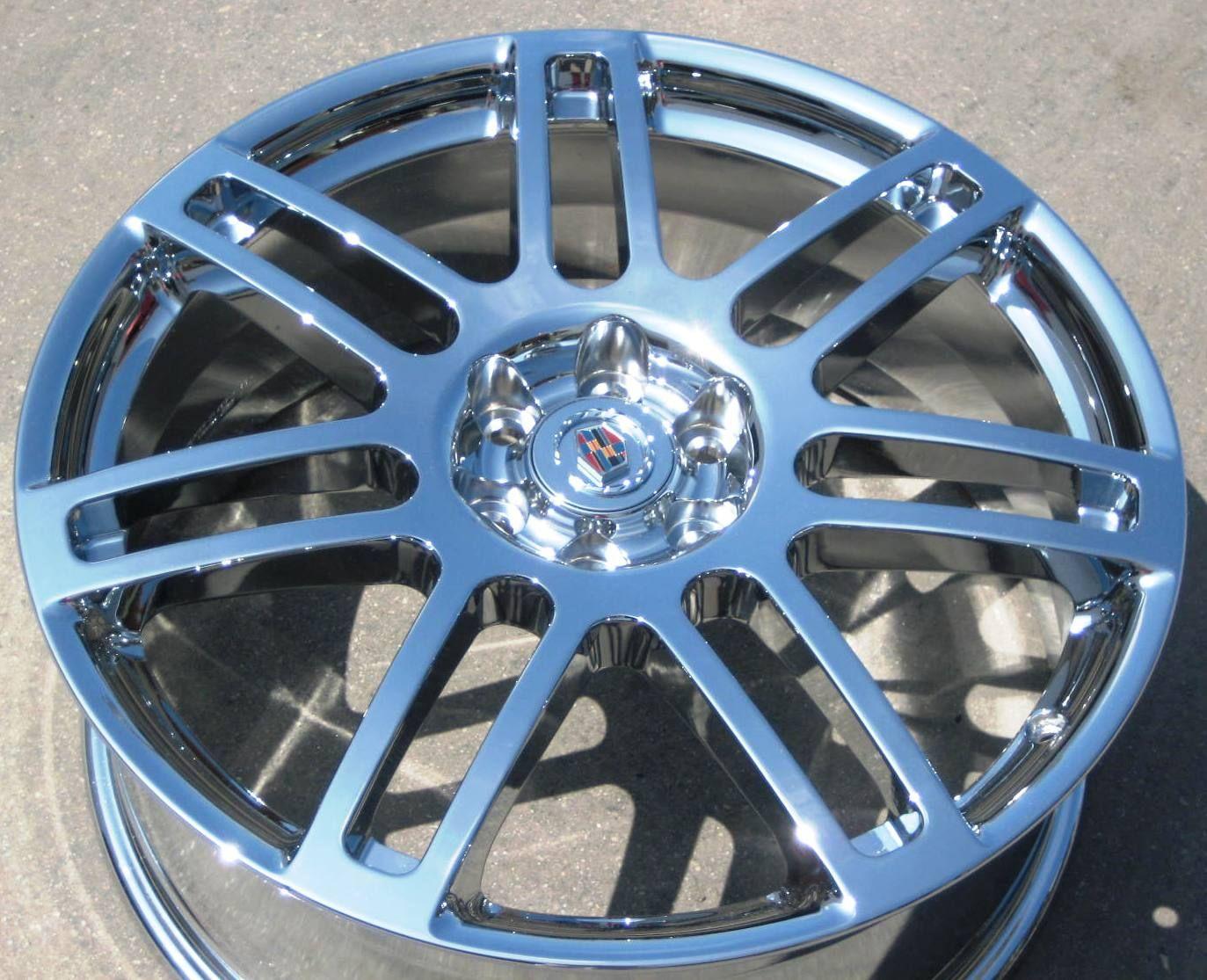 YOUR STOCK 4 NEW 20 FACTORY GM CADILLAC SRX CHROME WHEELS RIMS 06 09