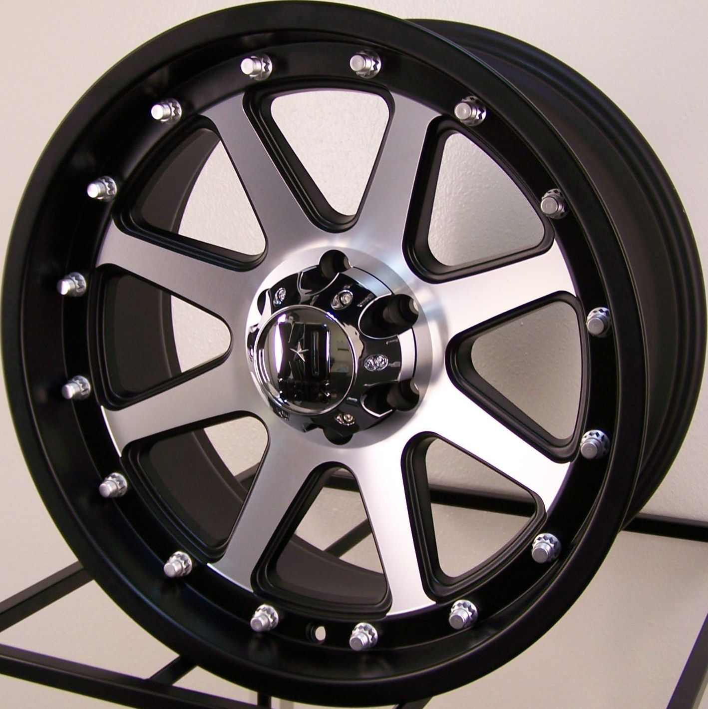 20 Black Machined KMC XD Addict Wheels Rim Ford F150 Expedition