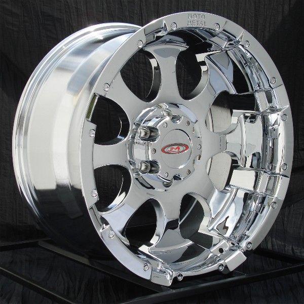 17 inch Chrome Wheels Rims Chevy Truck GMC 1500 6 Lug