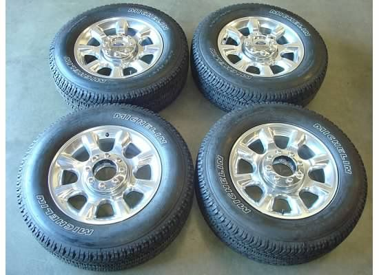 20 Ford F 250 F350 Wheels Rims Tires Factory F250 Superduty Lariat 05