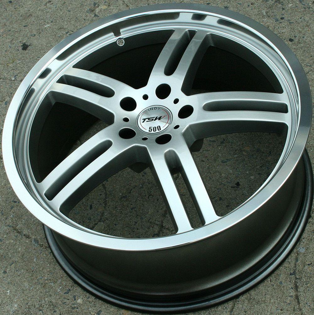 TSW Indy 500 20 Silver Rims Wheels Dodge Magnum AWD V6 V8 20 x 8 5 5H