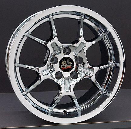 10 Chrome GT4 Wheels Nexen ZR Tires Rims Fit Mustang® GT 94 04
