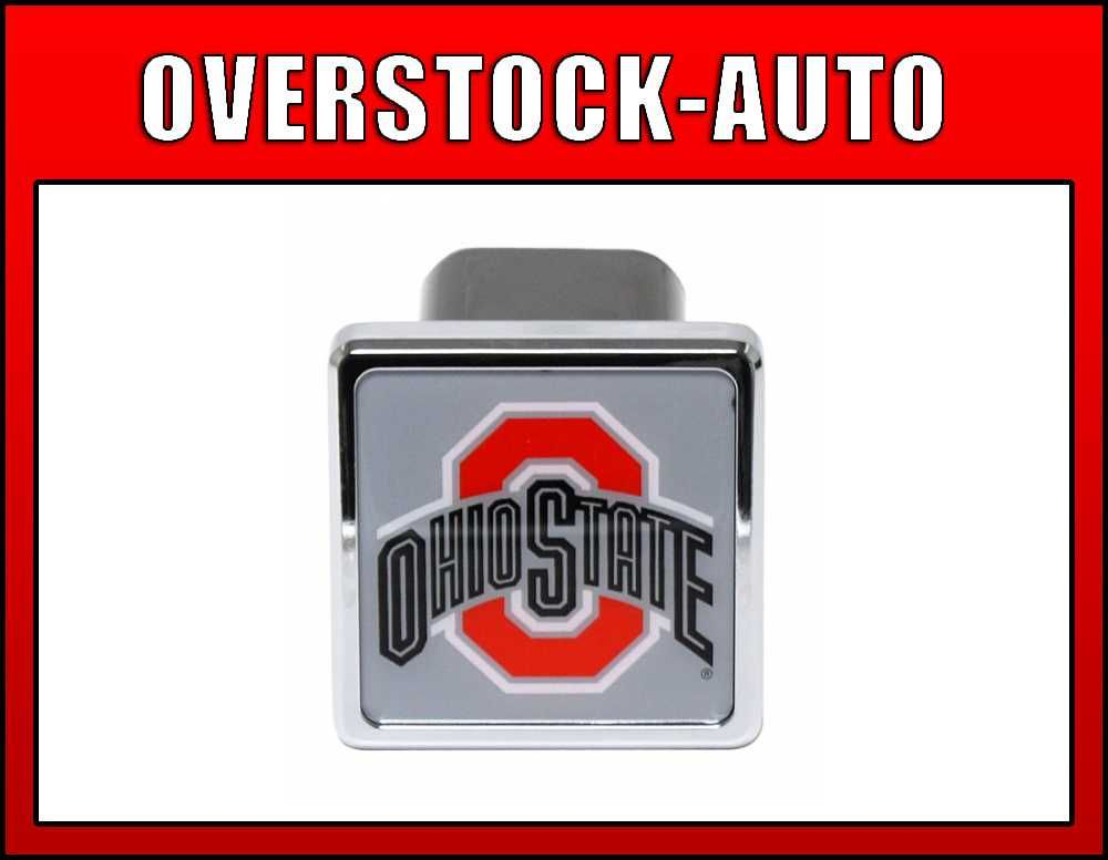 Pilot 2 College Trailer Hitch Cover Ohio State Buckeyes NCAA Logo