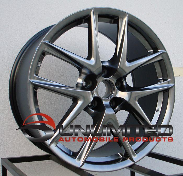 19x8 5 9 5 LFA Style Wheels Rims Fit Lexus IS250 is350 Rwd