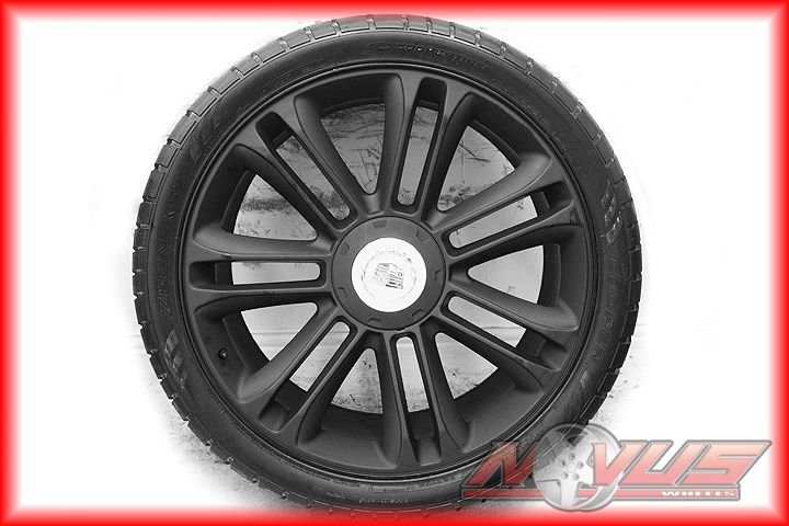 New 24 Cadillac Escalade Platinum Black Wheels Tires GMC Denali Tahoe