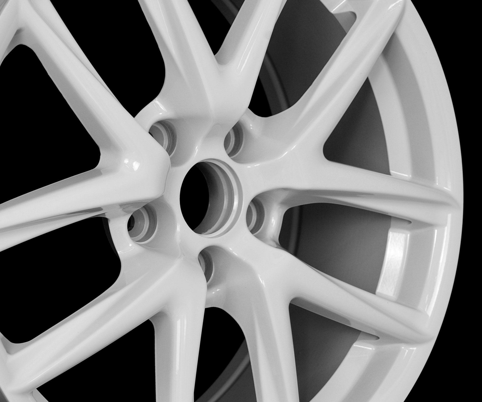 18 LFA Style White Wheels Rims Fit Infiniti G35 G37 Q45 MDX 2001 2006