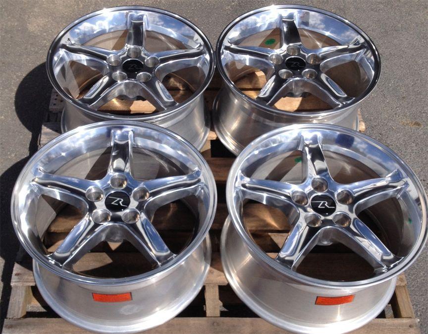Mustang Cobra R Wheels 17x9 Rims 17 inch 17 Fits 1994 2004 Mustang 95