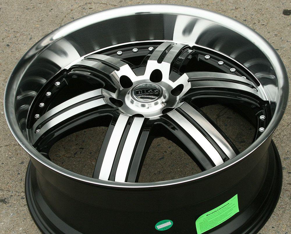 Bigg Daddy 416 22 Black Rims Wheels Ford Expedition F150 6H 22 x 9 5