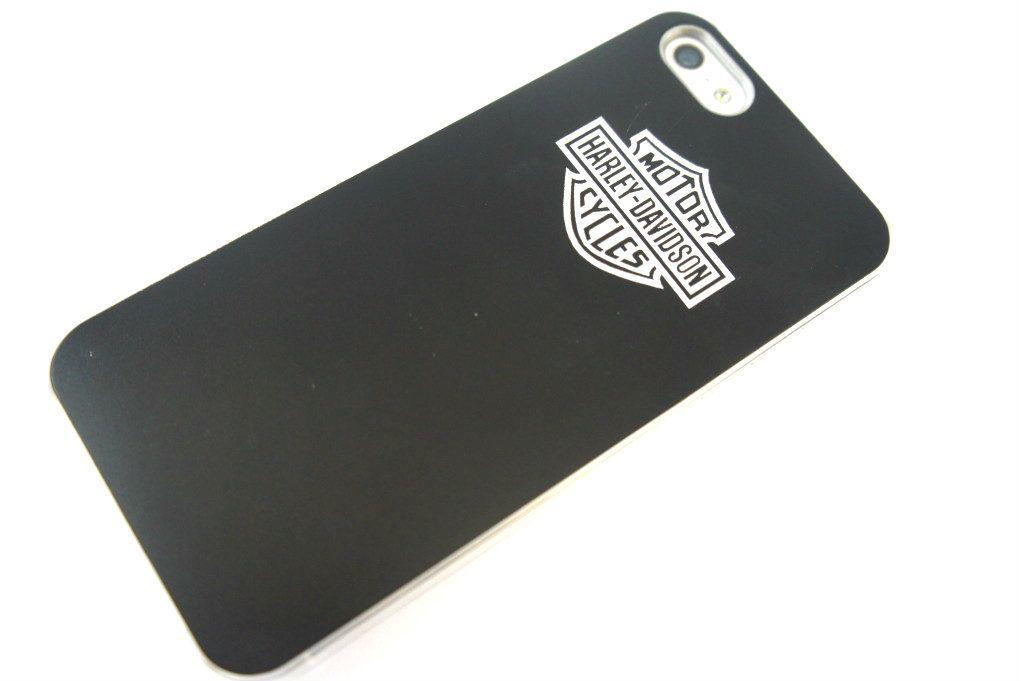 Harley Davidson BLACK Metal/Plastic Frame iphone 5 5G case/Back cover