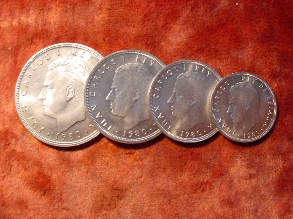 Старая монета 5 ptas espana испания 1957 франко, франсиско монета nr 2221
