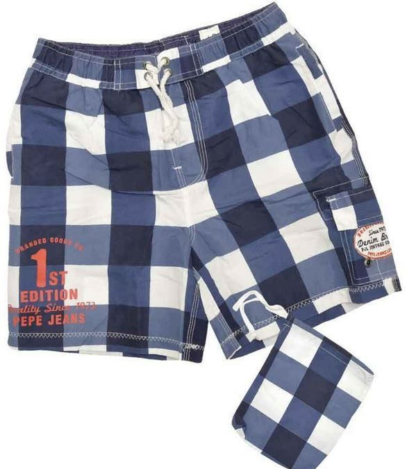 pepe jeans jungen badeshorts badehose short gr 134 170. Black Bedroom Furniture Sets. Home Design Ideas