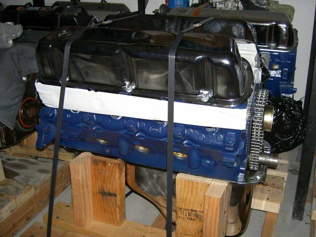 Ford 302 V8 Motor neu überholt ( Mustang Pick Up Hot Rod Musclecar