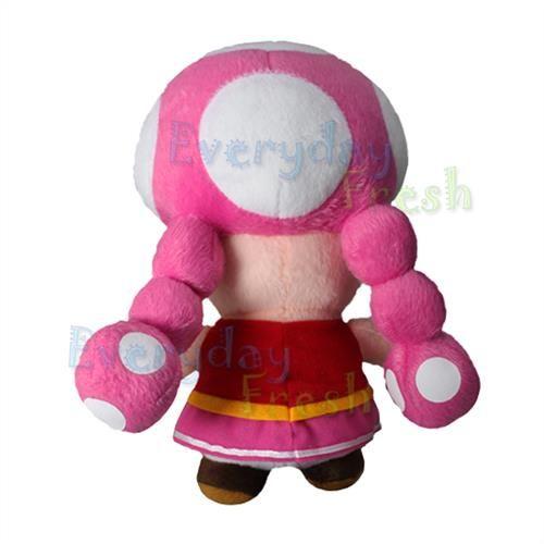 NEW Nintendo Super Mario Bros 9 TOADETTE Figure Plush Doll Toy