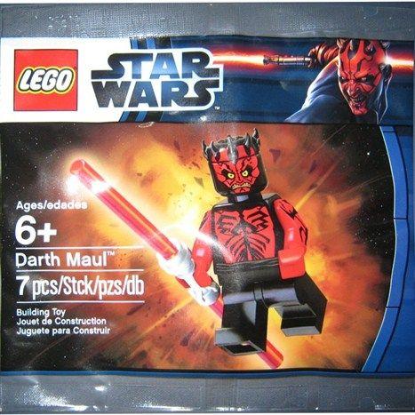 LEGO Star Wars 6005188 Darth Maul Toy Fair 2012 Promo, ungeöffneter
