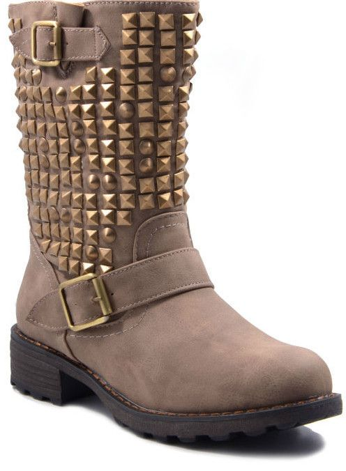TOP Overknee Stiefel Damenschuhe Nieten 4158 Schwarz 36