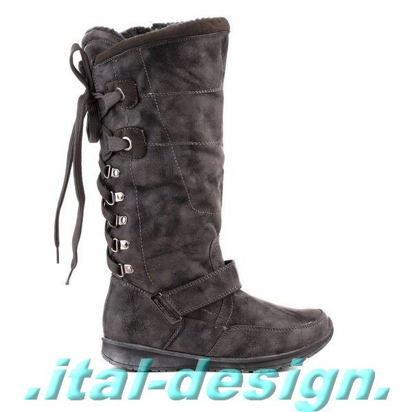 Damen Schuhe Stiefel designer Blockabsatz 3200 Bordeaux 36